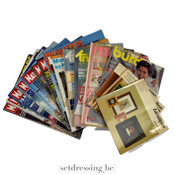 Magazines mix old school